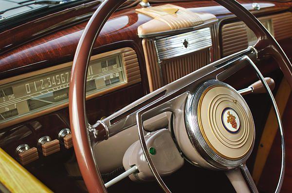 Images of Steering Wheels by Jill Reger - Steering Wheel Images -   1941 Packard Steering Wheel