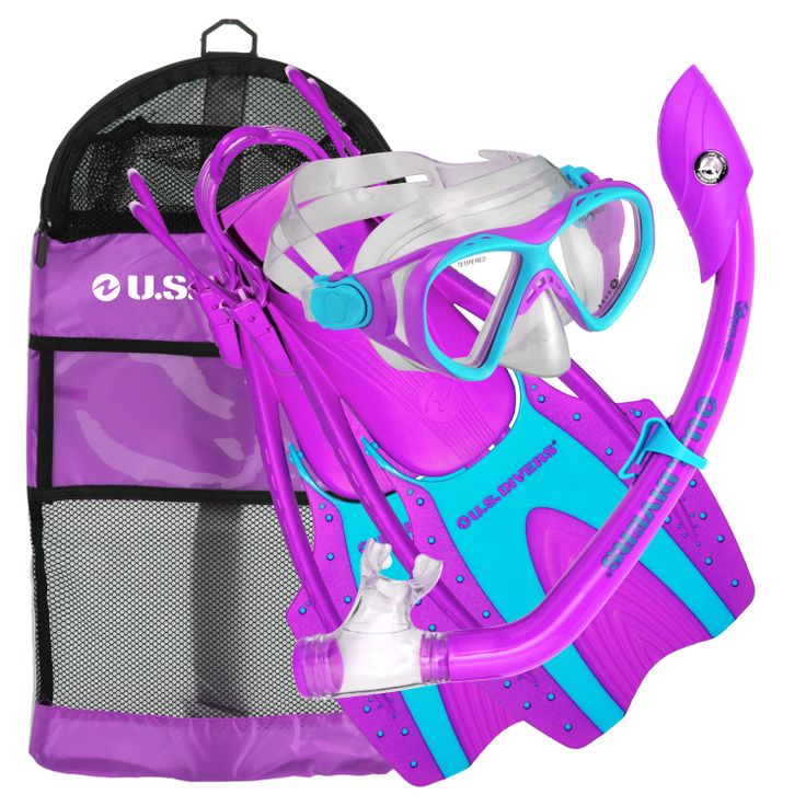 Kids Coral Snorkeling Set form U.S. Divers. Adult quality gear in kids sizes.