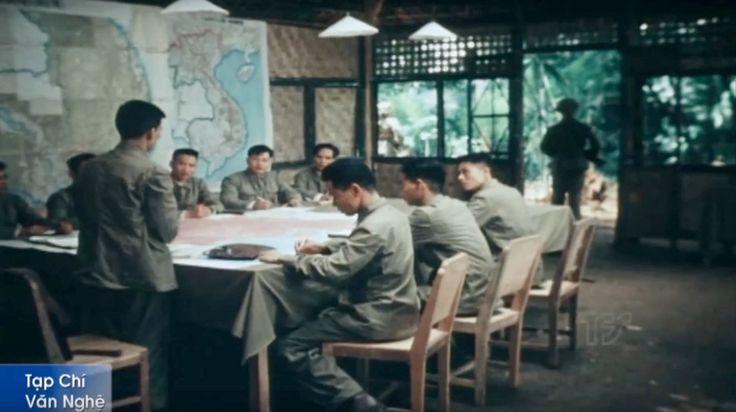 QG Viet Minh à Dien Bien Phu. Mars 1954.