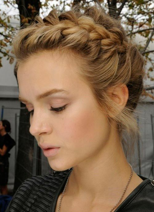 Gorgeous Braided Hairstyles for Super-Curly Hair  #hairstyles #braidedhairstyles #curlyhair