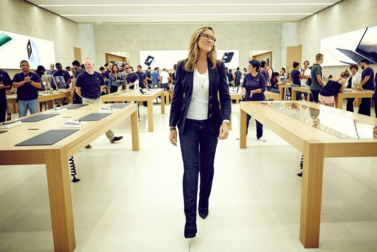 What the heck is Angela Ahrendts doing at Apple?