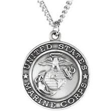 23 best saint michael images on pinterest saint michael san st michael united states marine corps protect me necklace in sterling silver with chain all aloadofball Image collections