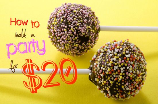 Learn how to hold a party for $20 in the Savings Room. Over 6000+ savings tips delivered at turbo speed.