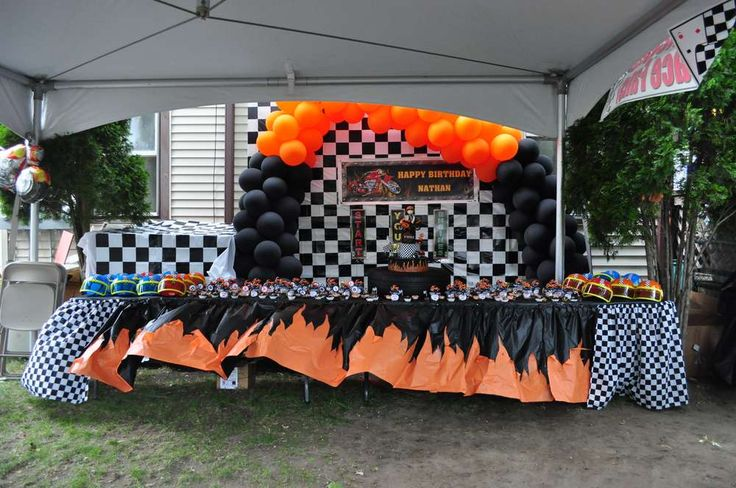 motorcycle Birthday Party Ideas | Photo 8 of 45 | Catch My Party