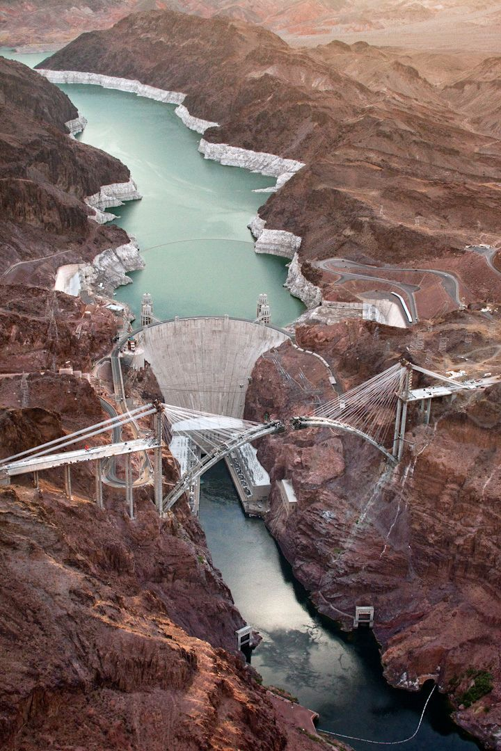 I was a just on this bridge with my friend Jeff Stewart on my last visit to Vegas.  Post construction! Great view of it and Hoover Dam.