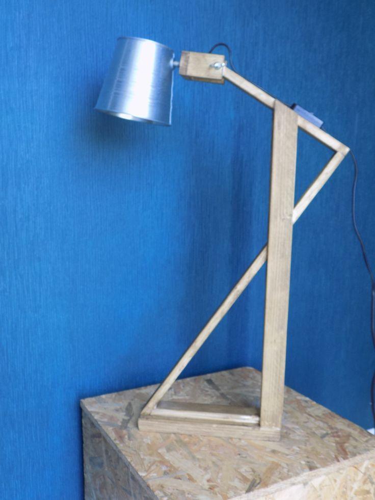 Simple Lampe de bureau design en bois