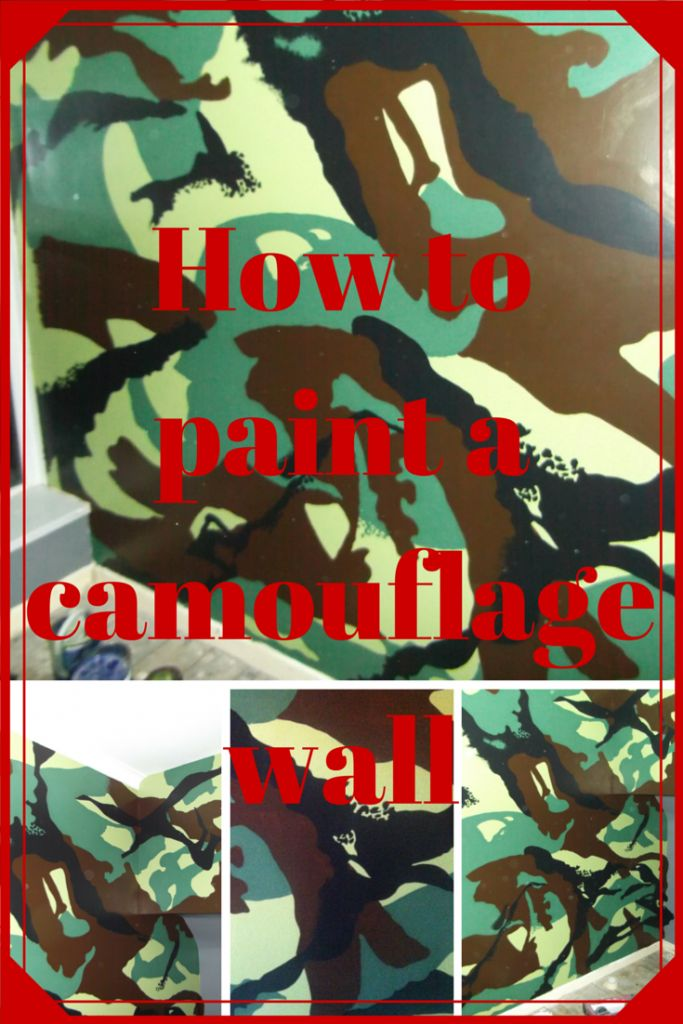 Learning To Paint A Camouflage Wall Can Seem Quite