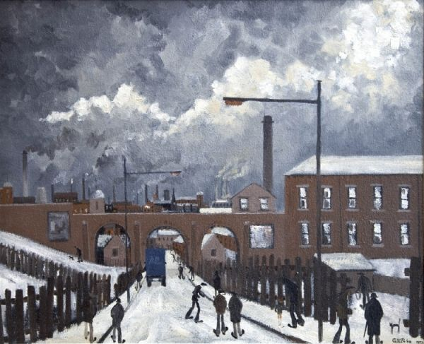 Geoffrey W  Birks 1929-1993 - Paintings for Sale - Clark Art Ltd - Specialists in  L.S. Lowry and Modern British Art