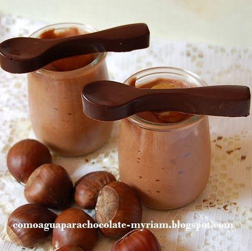 COMO AGUA PARA CHOCOLATE: MOUSSE DE CASTAÑAS