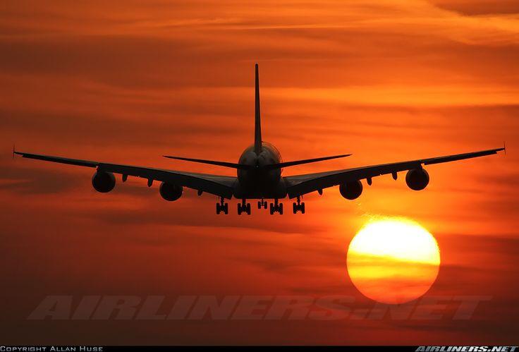 Hd Wallpaper Nice Sunset Screenshot My Buddy Took Of Me: Emirates, Airbus A380-861