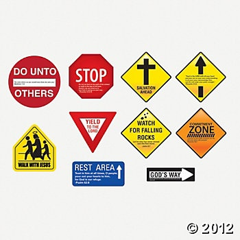Inspirational Road Signs, Wall Decorations, Party Decorations, Party Themes & Events - Oriental Trading