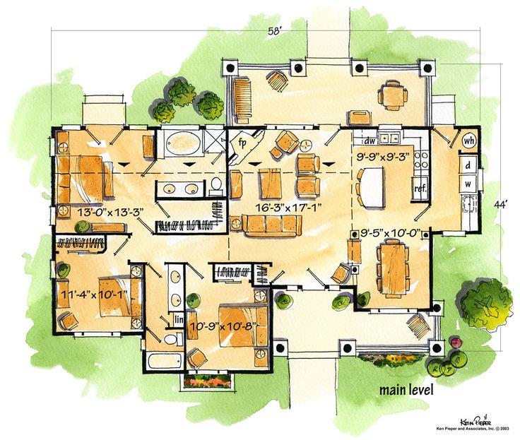 Sheridan Floor plan