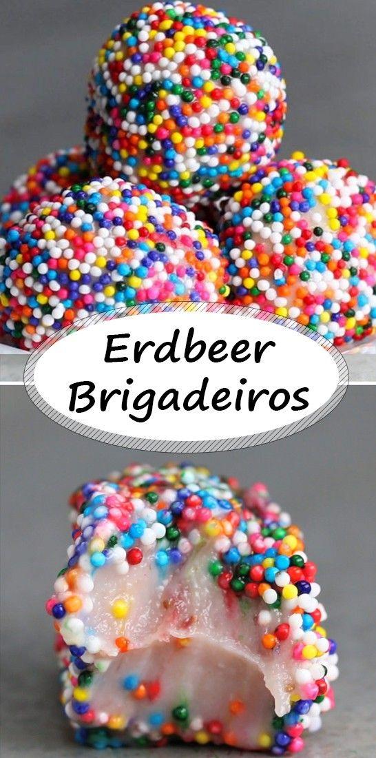 Erdbeer-Brigadeiros: Eine andere Art, brasilianische Trüffel zuzubereiten    – Rezepte