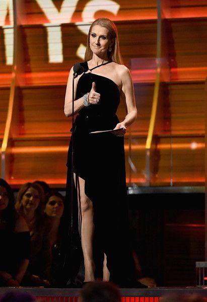 Celine Dion in Mugler