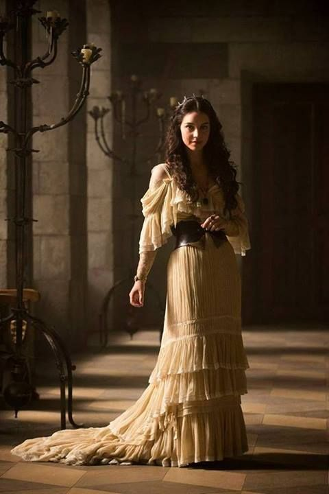 The costumes are never historically accurate for this show but I still think the designs are beautiful.
