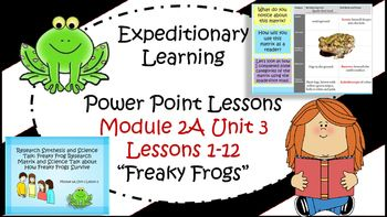 This digital download includes Power Point Lessons from the Common Core aligned NYS Curriculum Expeditionary Learning by Engage NY. The Power Point Lessons are for Module 2A Unit 3 Lessons 1-12 for 3rd grade. Everything you need in order to teach the lessons are here.