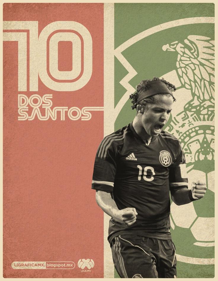 Giovani Dos Santos • Selección Mexicana • @LigraficaMX