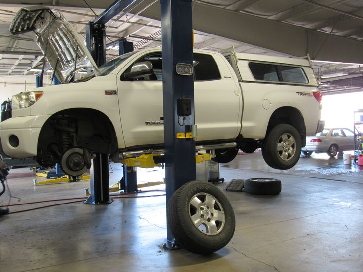 Getting Worked On At Lassen Chevrolet/Toyota Albany Oregon