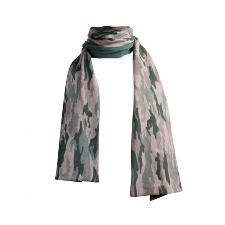 Vinrose Sjaal Camouflage bij Minimoda. #Meisjeskleding #Meisjes #Kinderkleding