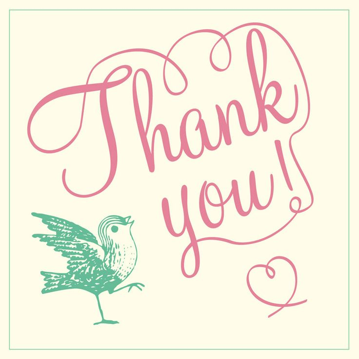 184 best Thank You images on Pinterest Gratitude, Thank you so - free thank you card template for word