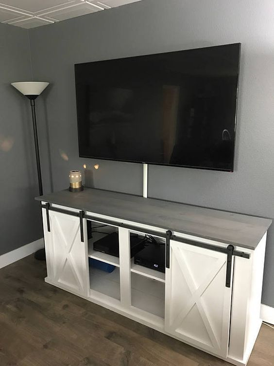 19++ White farmhouse tv stand with fireplace most popular