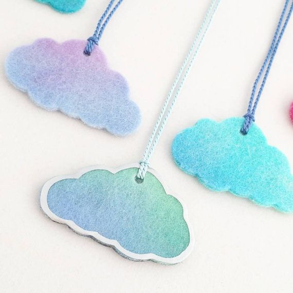 Cloud with a Silver Lining Necklace ... makeforgood by MimseyINC