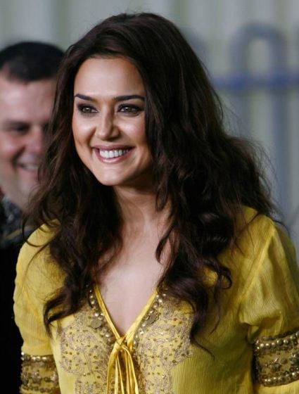 Preity Zinta - Born 31 January 1975 – A cool and dazzling Indian film actress.