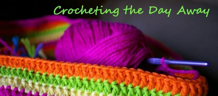 Crocheting The Day Away : Crocheting the Day Away Crochet Pinterest
