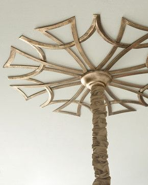 Starburst Ceiling Medallion - traditional - ceiling lighting - Horchow
