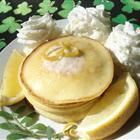 Lemon Cheesecake Pancakes.  Will try to convert using coconut or almond flour, and xyitol instead of sugar, of course.