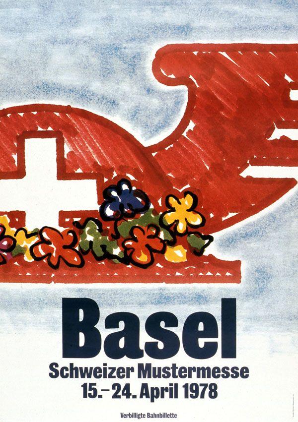 At. Bermann + Grieder Werbung, Basel Schweizer Mustermesse, 1978