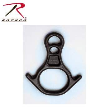 Rothco,Rescue Figure 8 Ring,figure 8 climbing,alloy 6061,aluminium 6061,aluminum 6061,rappel gear,rescue 8,aluminum tubing,alloy aluminum,climbing,climbing gear,rappelling,rappelling gear