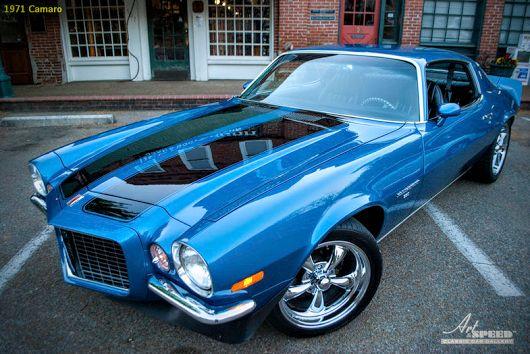 1971 Chevrolet Camaro. Yes it's real ? – James Reynolds – Google+