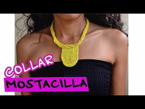 DIY -Collar Mostacilla - Bisutería Moda | ACCESORIOS MARSA - YouTube