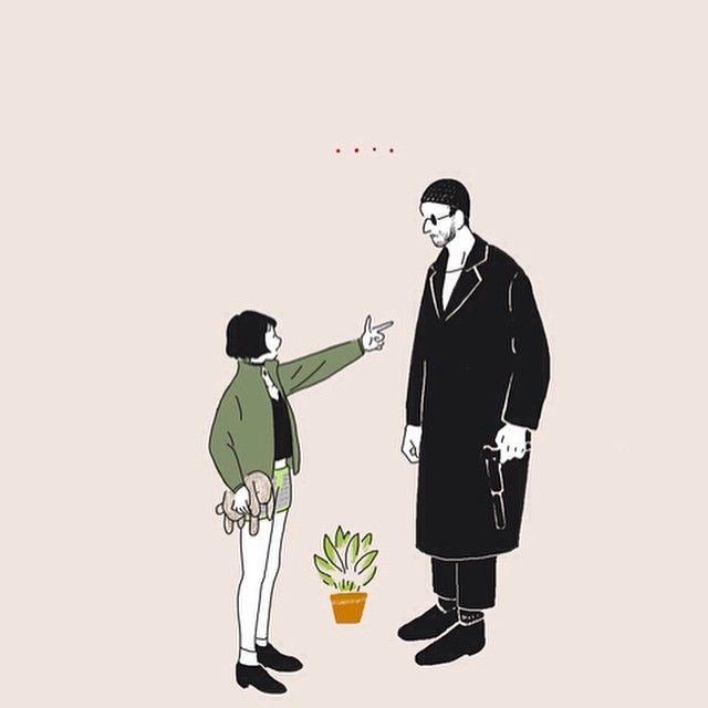Thank you for many comment and ❤️!!!! .... #LEON #matilda#映画 #movie #洋画 #マチルダ #レオン #らくがき #絵 #イラスト #illust #illustration #illustrationgram #plants #girl #女の子 #ファッション#fashion #ボブ #illustrator #drowing
