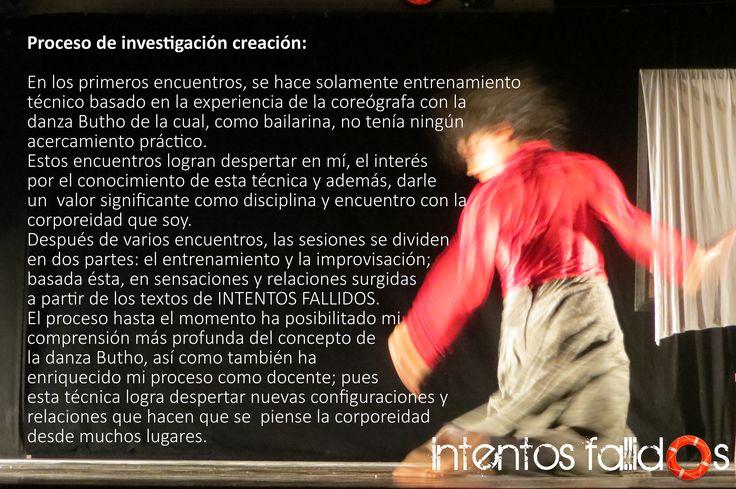Emilsen Rincón Bailarina en Intentos Fallidos