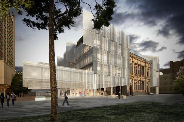 New Faculty of Architecture @ University of Melbourne by John Wardle Architects + NADAAA (Boston)