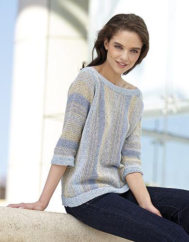 Revista mujer Concept 3 Primavera / Verano | 22: Mujer Jersey | Beige / Azul celeste / Tejano / Gris