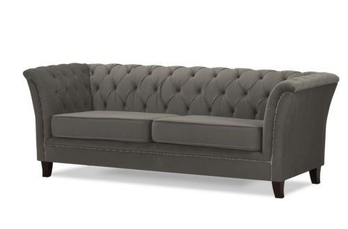 New Napoli Chesterfield 3 2 1 Seater Sofa Suite Matt