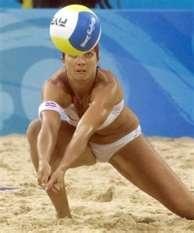 LOS ANGELES, Oct. 7 (UPI) -- U.S. beach volleyball Olympic champion Misty May-Treanor said she needs