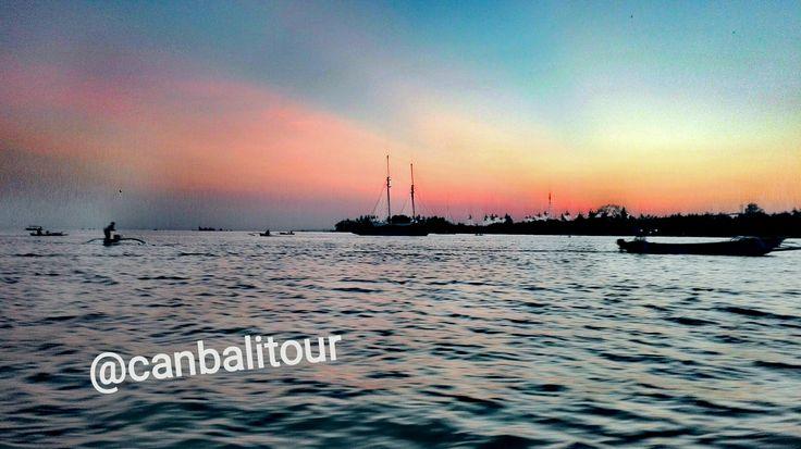 Sunrise at Lovina Beach