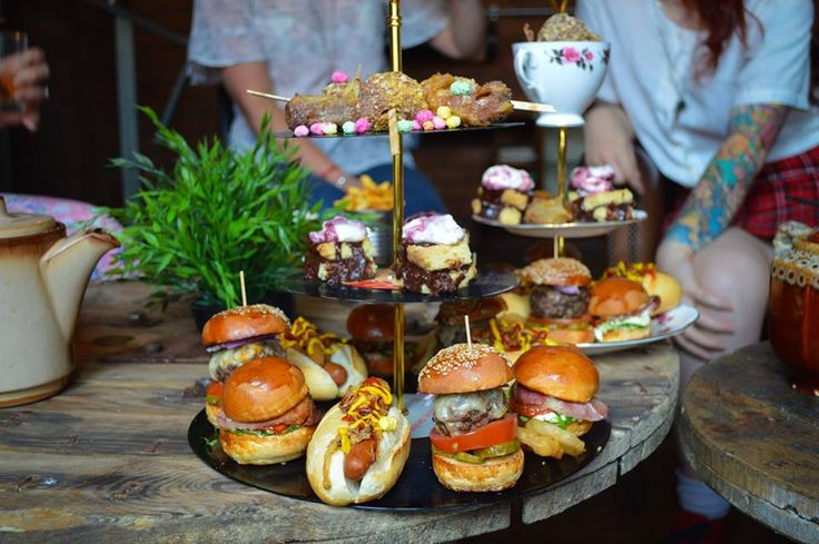 PUNK AFTERNOON TEA – THE BALTIC SOCIAL A carousel of indulgence filled with sliders, mini hot dogs, BLT's and more. There'll be no Earl Grey present in this tea pot however, it is full of Punk IPA. Forget frocks, this rocks.