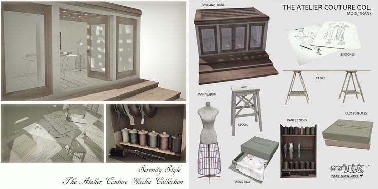 https://flic.kr/p/U29jMr | Serenity Style- The Atelier Couture Collection | New exclusive gacha for Shiny Shabby