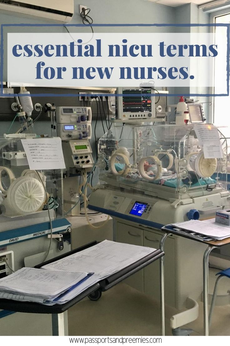 Essential NICU Terms for New Nurses Passports and