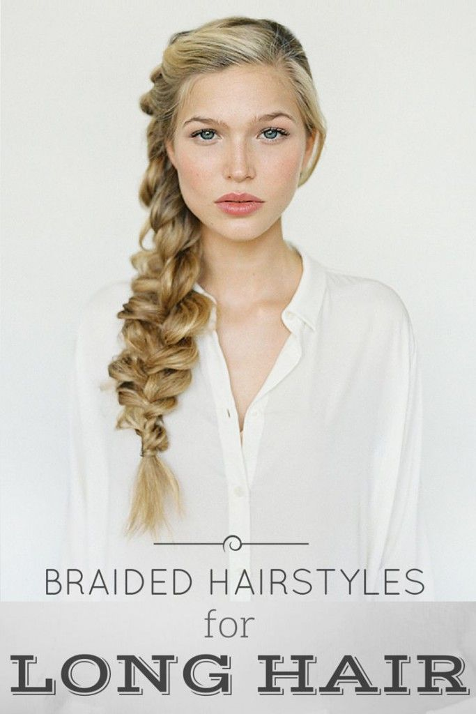 5 Creative and Chic Braided Hairstyles for Long Hair #braids #longhair #hairstyles #summerhairstyle