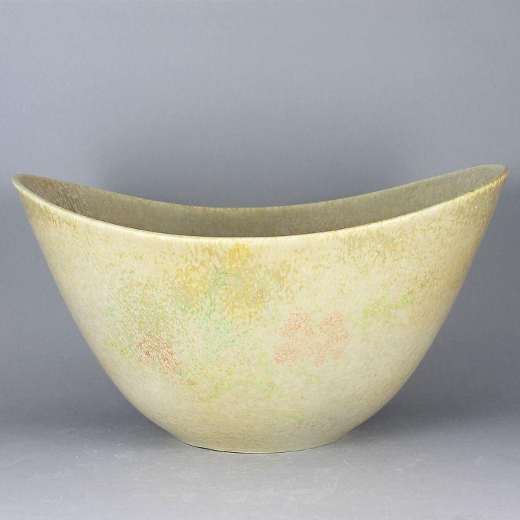 Gunnar Nylund (AXK 1950s) Grand Undulating Masterpiece Bowl