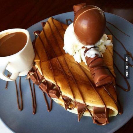 Kinder pancake, yes or no?