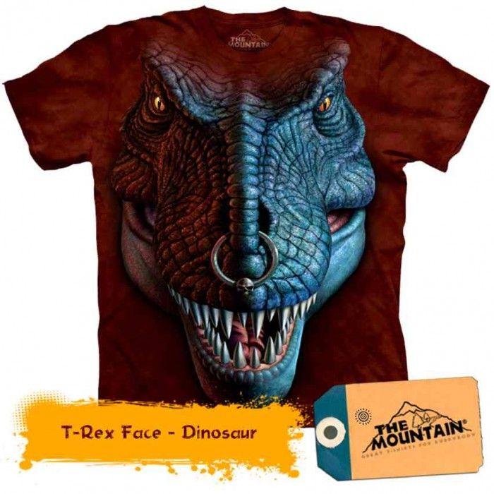 Tricouri The Mountain – Tricou T-Rex Face
