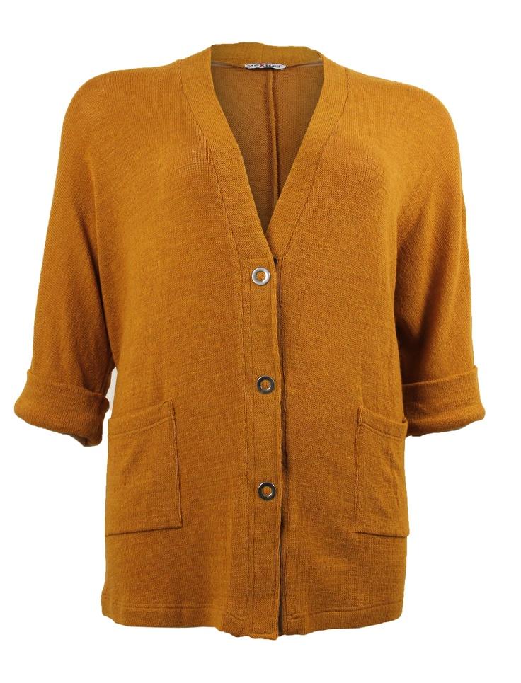Vest Curcuma - Grote Maten Mode   Mockai  Inbetween mode  Curvy Mode Voor vrouwen met curvy, inbetween en plussize maten