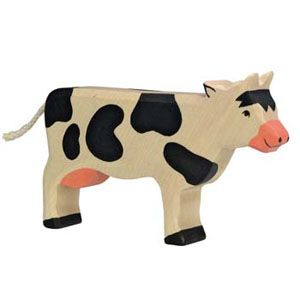 Holztiger Wooden Animal Cow Standing Canada